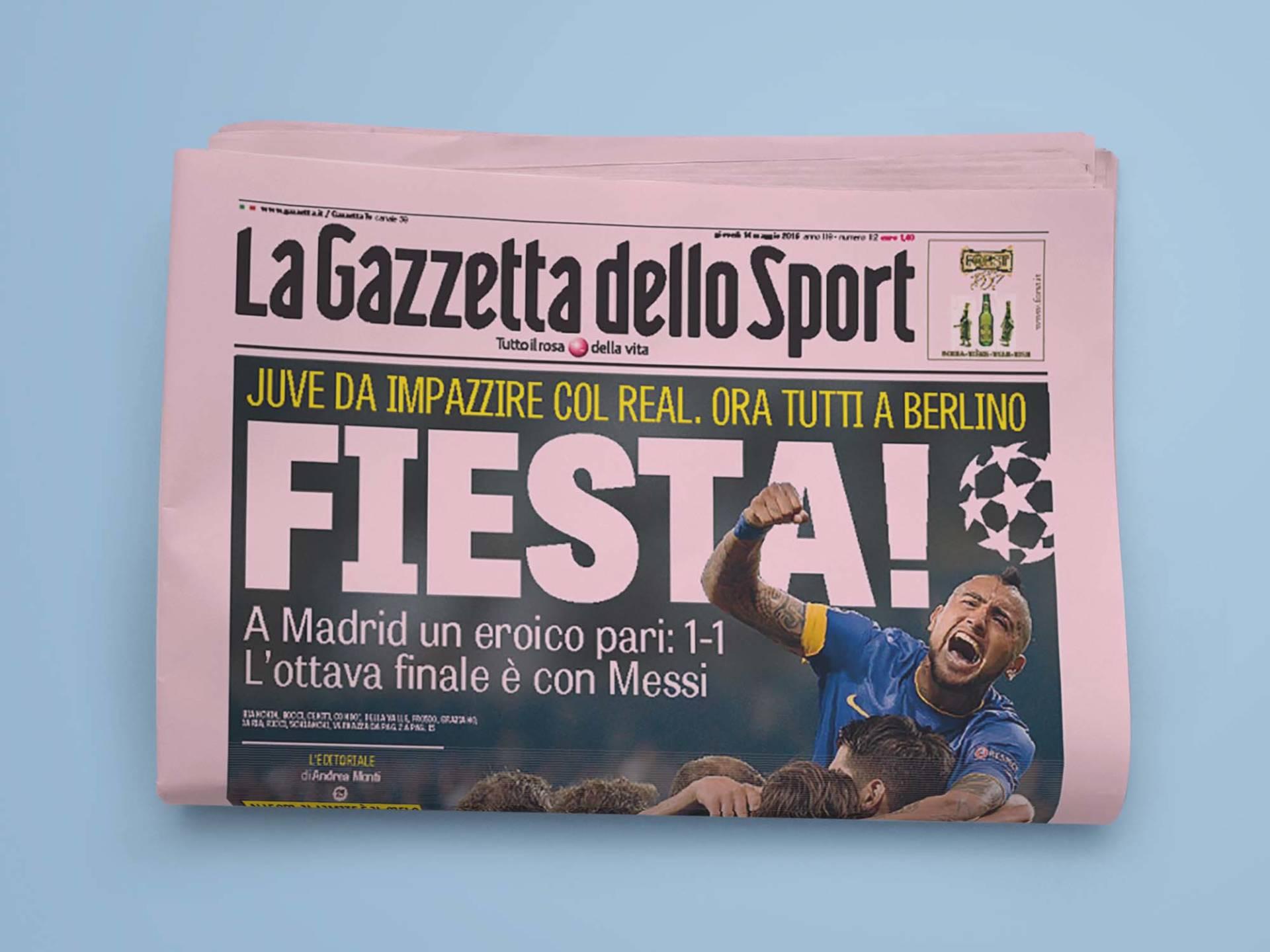 La_Gazzetta_Dello_Sport_01_Wenceslau_News_Design