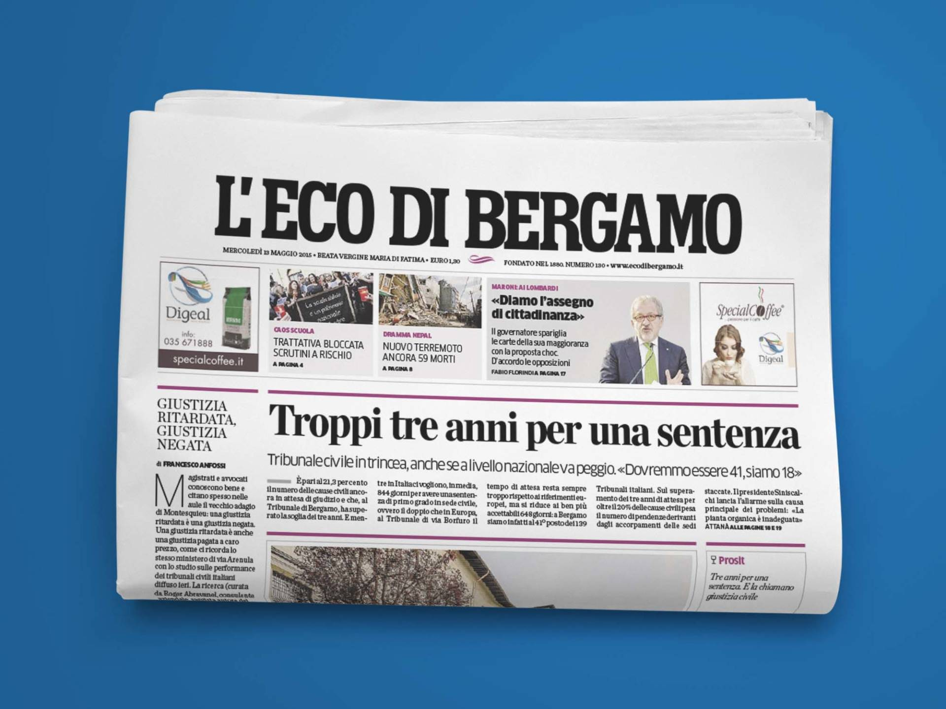 L_Eco_di_Bergamo_01_Wenceslau_News_Design