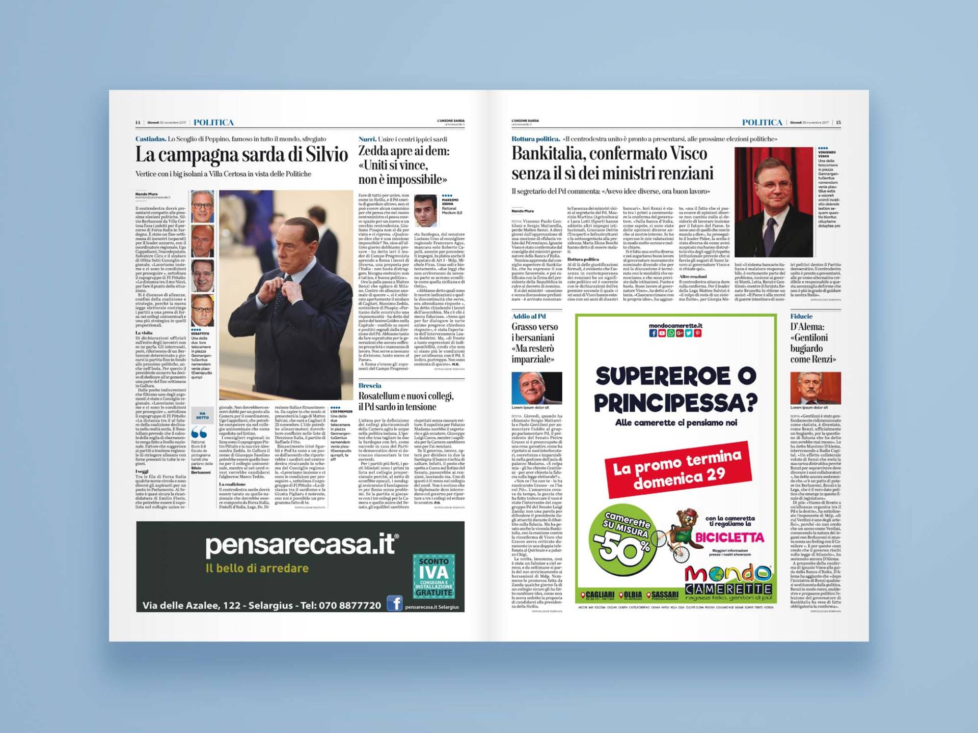 L'Unione_Sarda_03_Wenceslau_News_Design