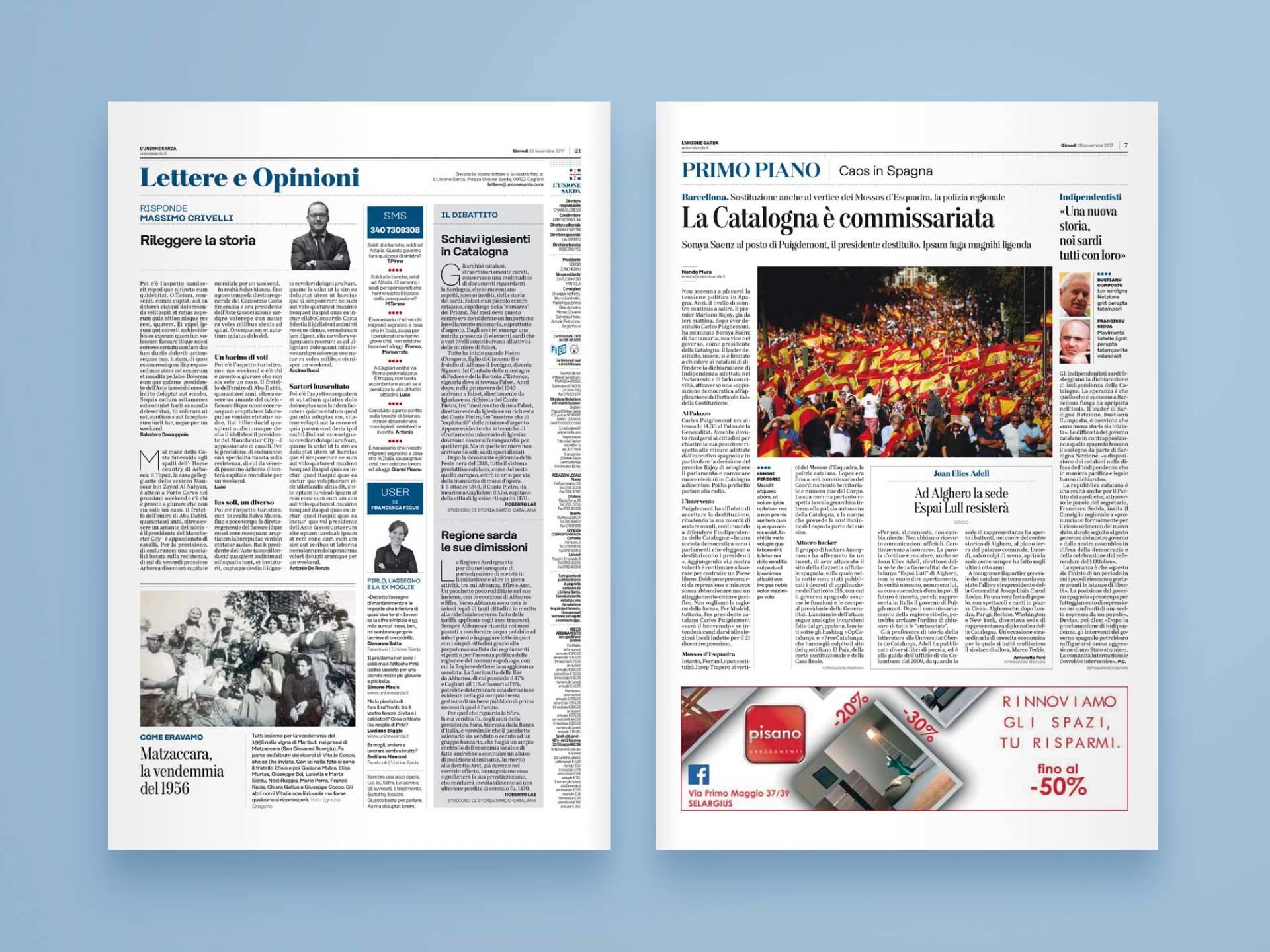 L'Unione_Sarda_05_Wenceslau_News_Design