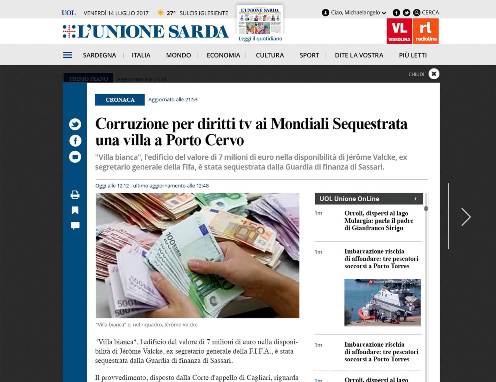 L'Unione_Sarda__Web_07_Wenceslau_News_Design