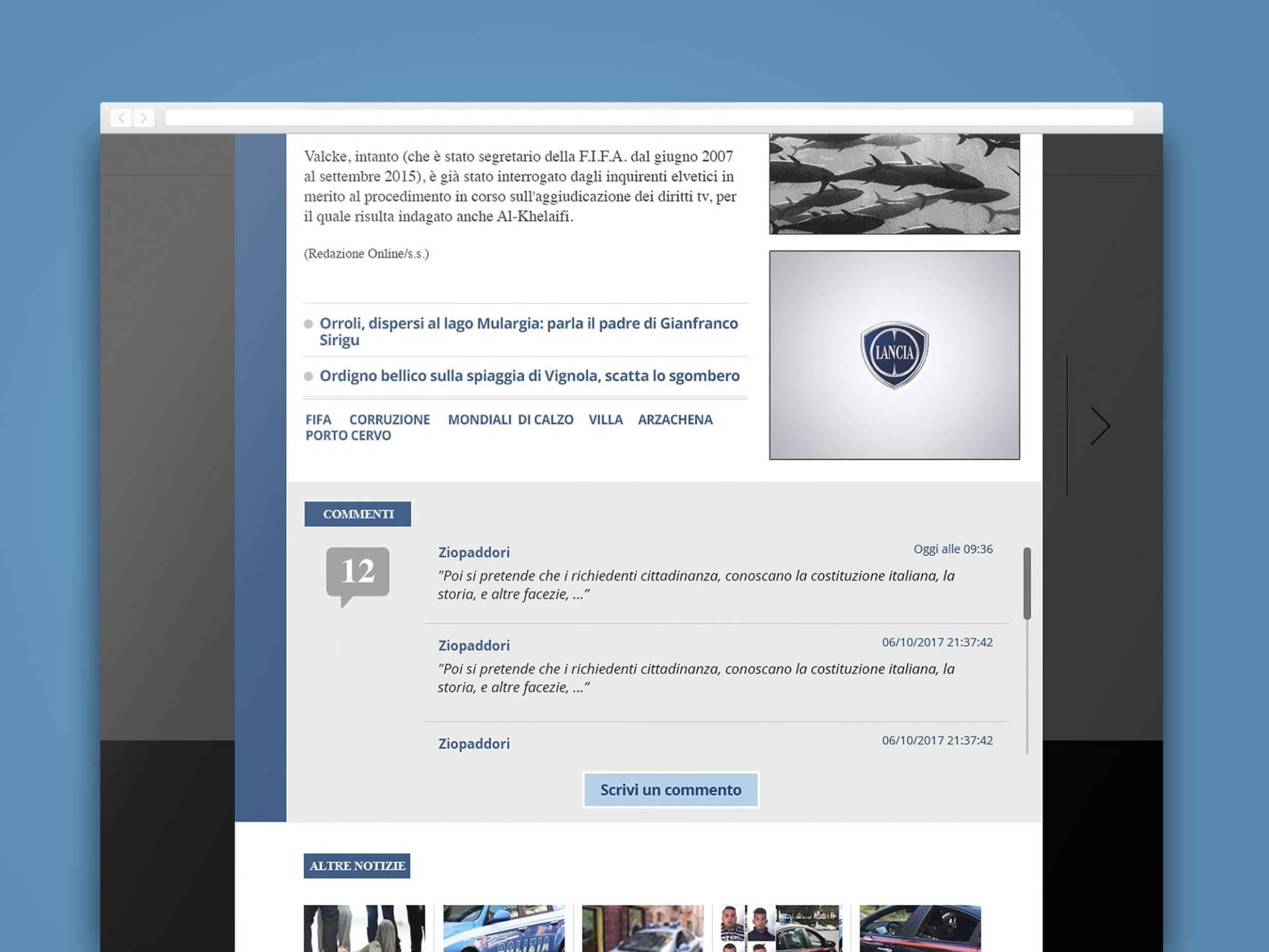 L'Unione_Sarda__Web_08_Wenceslau_News_Design