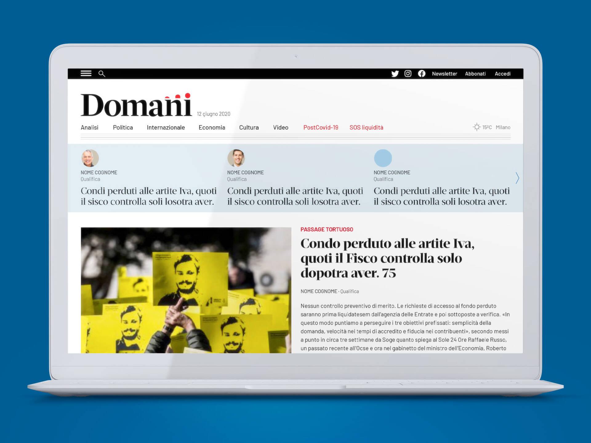 Domani_Web_Wenceslau_News_Design_1